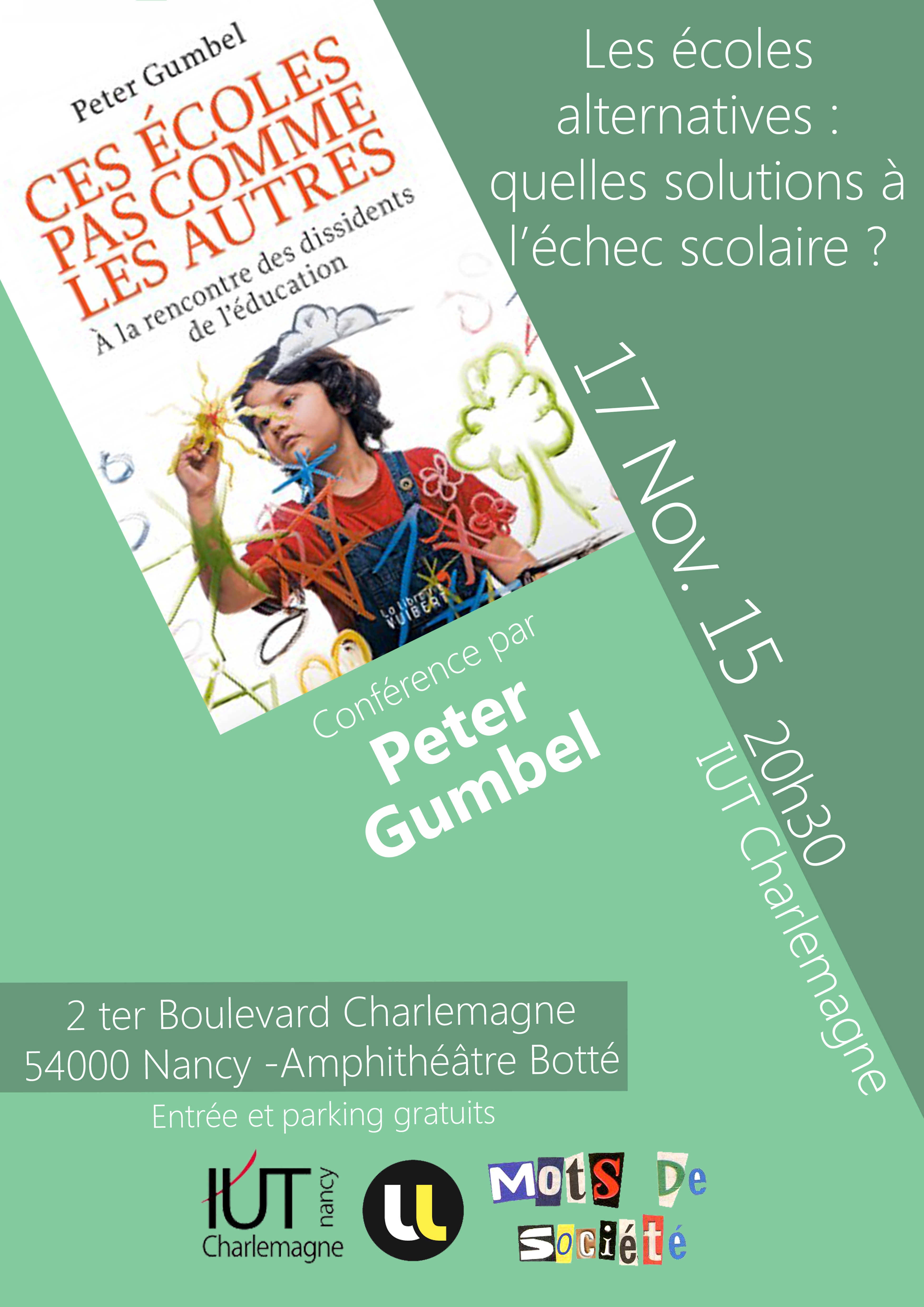 affiche IUT Charlemagne